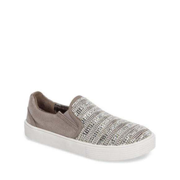 b5fd87db5ed370 Stuart Weitzman Vance Glitz Slip-On Sneaker Girls